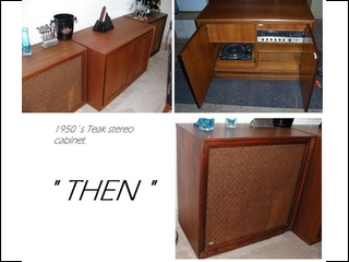 Teak Stereo Cabinet to China Buffet